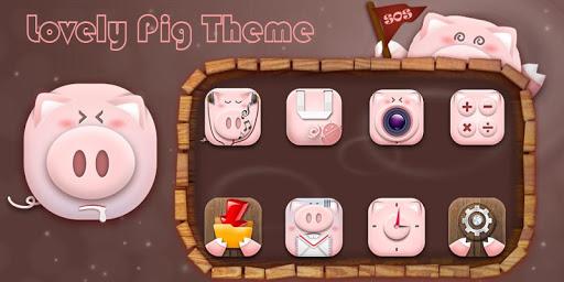 Lovely Pig Theme
