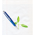 Modern Pen and Paper icon