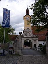 Photo: der Eingang zum Schlosshof