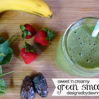Sweet 'N Creamy Green Smoothie