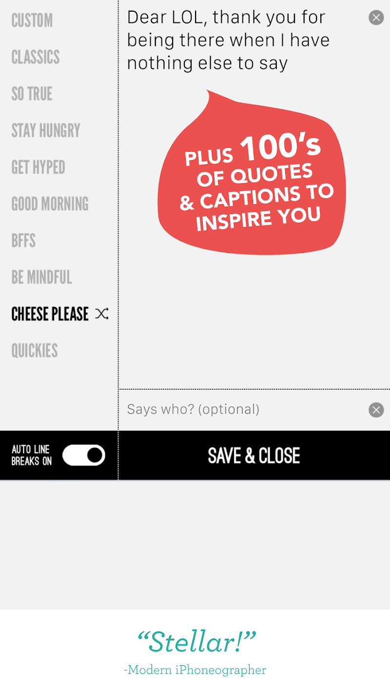 Word Swag - Cool fonts, quotes Screenshot 14