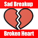 Broken Heart Sad Love Messages SMS icon
