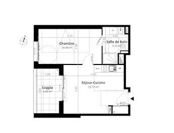 appartement à Gévezé (35)