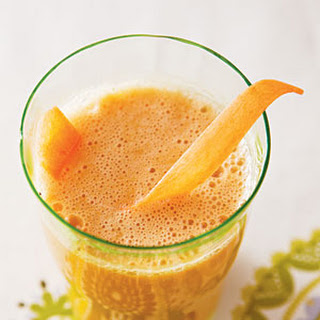 Carrot, Apple, and Ginger Refresher.