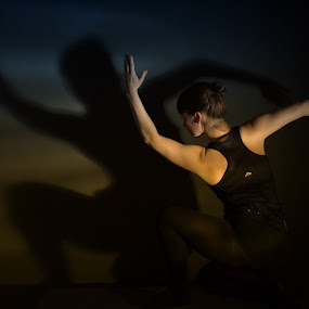 dancingpose by Emmy Dijkmans - People Musicians & Entertainers (  )