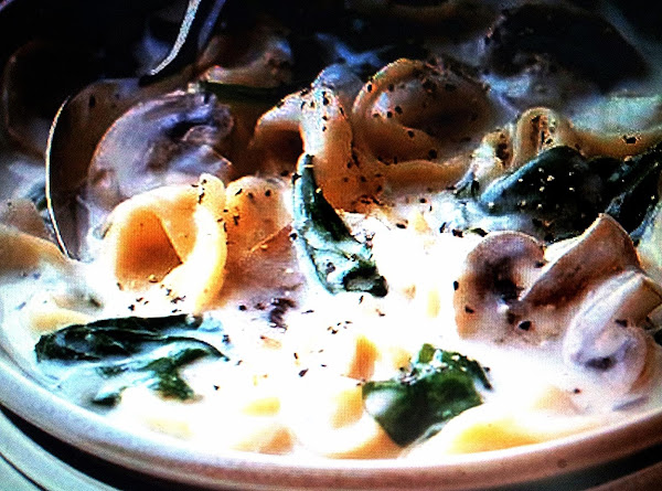 Creamy Tortellini Spinach Soup Recipe