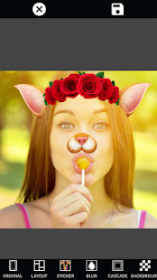 Photo Collage Editor Selfie Camera Filter Sticker- screenshot thumbnail