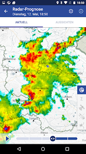 WarnWetter screenshot 2