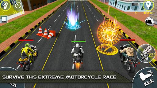 Bike Attack Race 2 - Shooting apk screenshot 3
