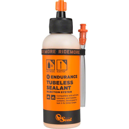 Orange Seal Endurance Tubeless Tire Sealant with Twist Lock Applicator - 4oz - No Applicator