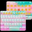 Pink Cloud Emoji Keyboard Skin icon