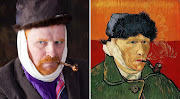 A man and his muse: Vincent van Gogh's 'Self-portrait with Bandaged Ear and Pipe'.