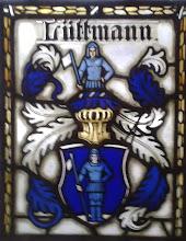 Photo: Kirchenfenster mit Wappen der Familie Lüttmann