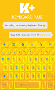 Keyboard for Smartphone Theme - náhled