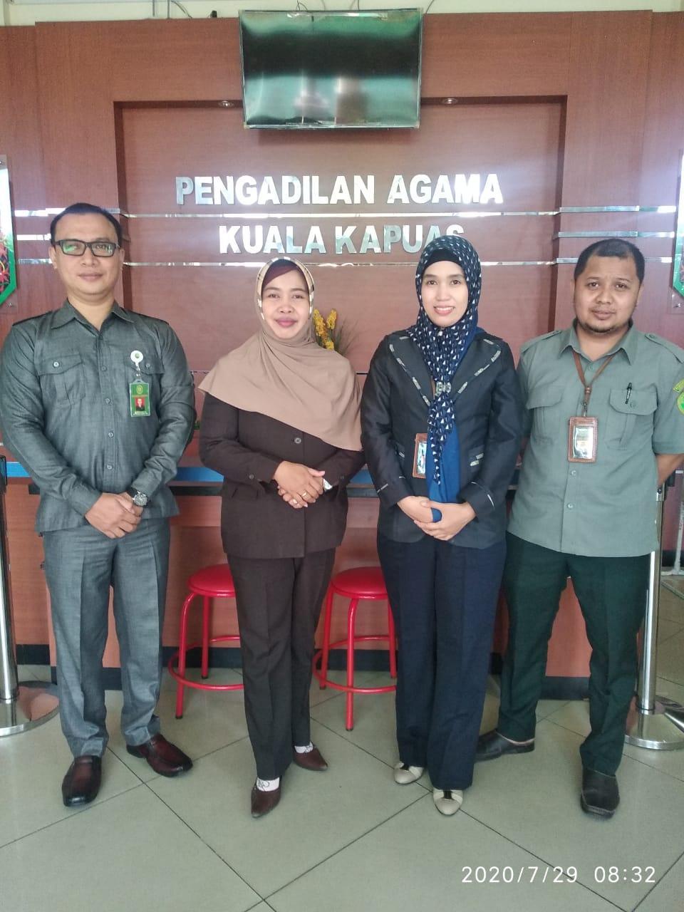 Inilah Agen Perubahan (Agent of Change) Pengadilan Agama Kuala Kapuas  | (24/9)