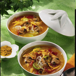 Sour and Spicy Thai Soup.