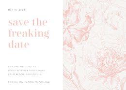 Diana & Ryder's Wedding - Save the Date item