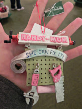 Photo: Do you have a Handy Mom on your list?  This pegboard ornament is less than $15.