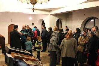 Photo: Варна, благословение на енориашите след беседата, 24 октомври 2013 г.
