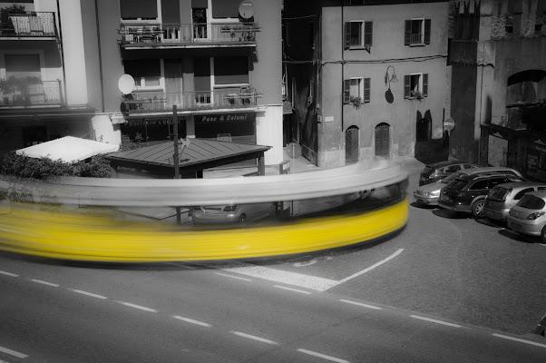 La curva del Trenino Giallo di SosiusPhoto