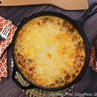 Gluten Free Crustless Quiche Recipe