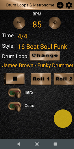 Drum Loops & Metronome Free Outro and Tap BPM screenshots 2