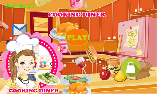 Cooking Diner Game for Kids
