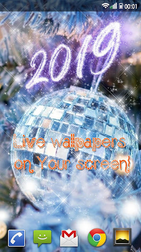 Happy New Year Wallpaper 2019 – Holiday Background hack tool