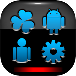 GO Theme Android Alpha Icon