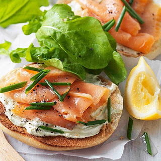 Bagels with Smoken Salmon