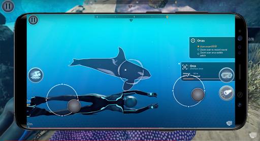 Beyond Blue Wallpaper screenshot 4
