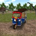 Tuk Tuk Taxi Jurassic Zoo icon