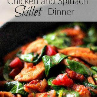 Chicken and Spinach Skillet Dinner