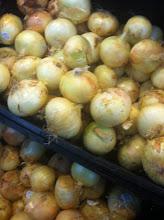 Photo: I grab an onion as well.