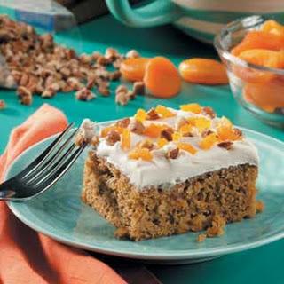 Apricot Pumpkin Cake.