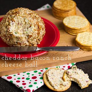 Cheddar Bacon Ranch Cheese Ball.