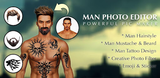 Man Tattoo Hairstyle Editor Apps On Google Play