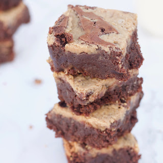 Peanut Butter Brownies.