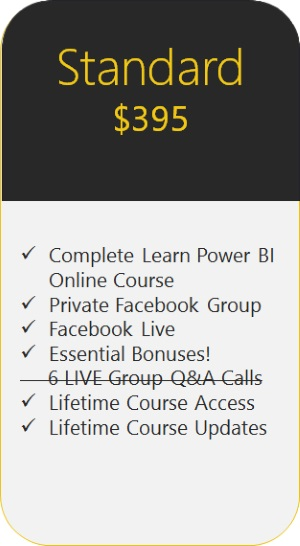 Learn Power BI Standard Edition