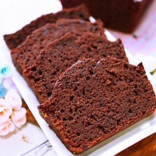 Orange Cocoa Loaf Cake