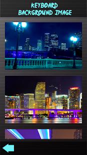 Neon městské klávesnice - náhled