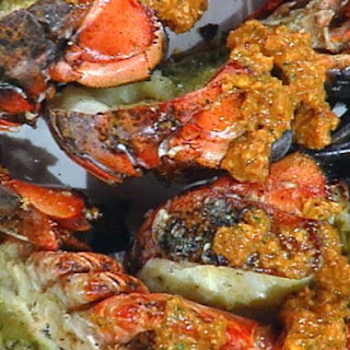 Grilled Shellfish with Romesco Sauce