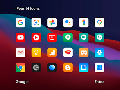 iPear 14 – Icon Pack (MOD, Paid) v1.1.1 2