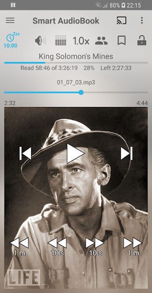 Smart AudioBook Player Screenshot Image