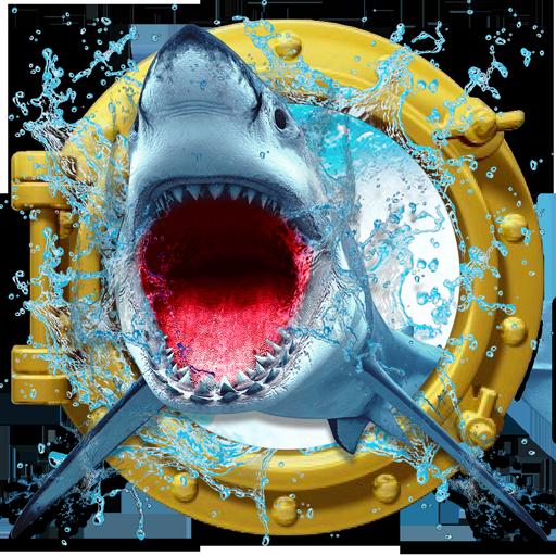 疯狂的鲨鱼3D 模擬 App LOGO-硬是要APP