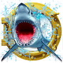 Crazy Shark Attack 3D icon