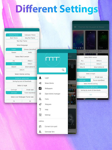 Themes for Huawei & Honor 13.0.1 screenshots 2