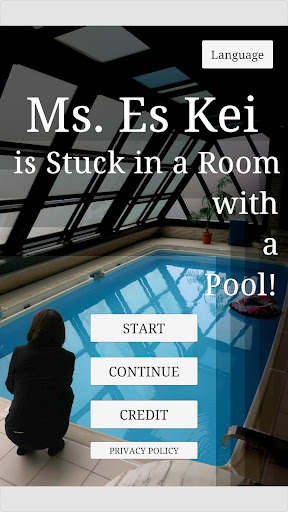 Ms.Es Kei is Stuck in a Room with a Pool! screenshot 1
