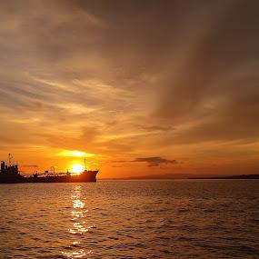 by Wahid Hasyim - Landscapes Sunsets & Sunrises ( sunset, landscape )
