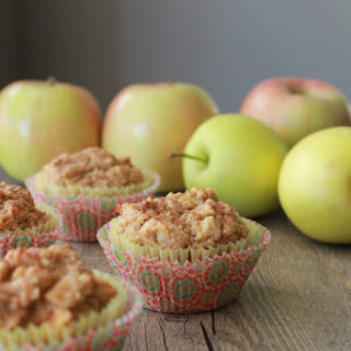 Oatmeal Honey Apple Muffins..